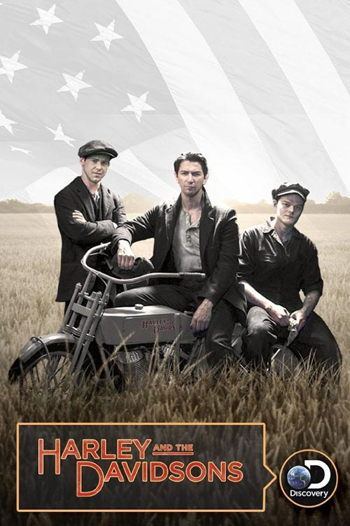 Harley and the Davidsons poster