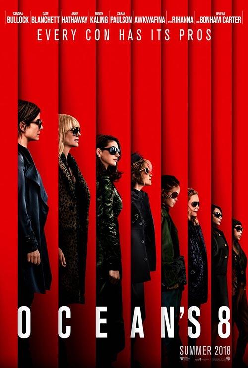 """Ocean's 8"" movie poster"