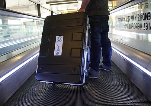 Ovide Smart Assist transport case